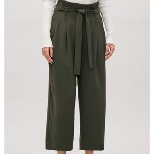 COS Belted High Waist Trousers